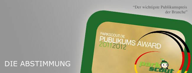 Parkscout.de Publikums Award 2011|2012