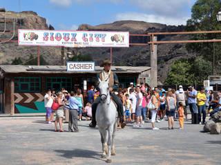 Die Westernstadt Sioux City auf Gran Canaria